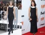 Deniz Gamze Erguven In Chanel - 'Kings' Toronto Film Festival Premiere