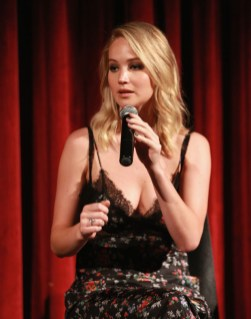 Jennifer Lawrence In Brock Collection