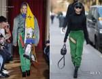 Hailey Baldwin rocks Y/Project's detachable jeans in Paris
