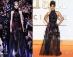 Halle Berry In Elie Saab - 'Kingsman: The Golden Circle' London Premiere