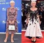 Helen Mirren In Sassi Holford - The Leisure Seeker (Ella & John) Venice Film Festival Premiere