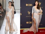 Jessica Biel In Ralph & Russo Couture - 2017 Emmy Awards