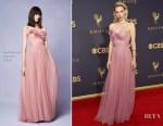 Vanessa Kirby In Marchesa - 2017 Emmy Awards