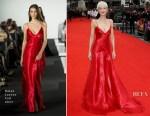 Andrea Riseborough In Ralph Lauren - 'Battle Of The Sexes' London Film Festival Premiere