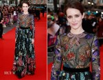 Claire Foy In Gucci - 'Breathe' London Film Festival Premiere & Opening Night Gala