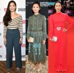 Hong Chau In L'Agence, Sea New York, Valentino & Alessandra Rich - Hamptons & London Film Festivals