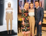 Millie Bobby Brown In Self-Portrait - Live With Kelly & Ryan