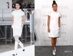 Yara Shahidi In Chanel - ELLE's 24th Annual Women in Hollywood Celebration