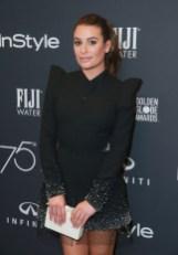 Lea Michele In Yanina Couture