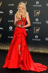 Claudia Schiffer In Versace