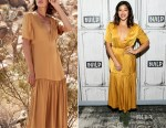 Gina Rodriguez In Christine Alcalay - Build Presents 'The Star'