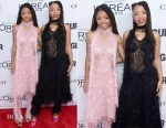 Halle Bailey and Chloe Bailey In Rodarte - 2017 Glamour Women Of The Year Awards