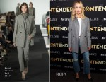 Jennifer Lawrence In Ralph Lauren Collection & Jean Atelier - Deadline's The Contenders