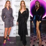 Rosie Huntington-Whiteley rocks three Attico looks in one day