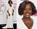 Viola Davis In Michael Kors Collection - 2017 American Music Awards