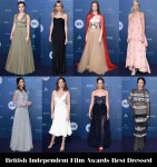 Who Was Your Best Dressed At The British Independent Film Awards?