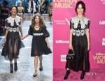 Camila Cabello In Dolce & Gabbana - Billboard Women In Music 2017