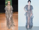 Fan Bingbing In Iris Van Herpen Couture & Jean Paul Gaultier Couture -  2018 iQIYI Screaming Night & Tencent Star Awards 2017