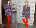 Gwen Stefani In Schiaparelli Couture - Domino x Fred Segal And CB2 Pop Up