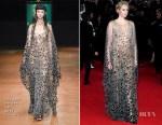 Gwendoline Christie In Iris van Herpen Couture - 'Star Wars: The Last Jedi' London Premiere