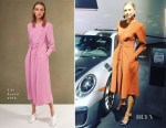 Maria Sharapova In Tibi - Porsche Auto Trade Show