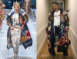 Rihanna is Instaglam in Dolce & Gabbana