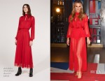 Amanda Holden In Amanda Wakeley - 'Britain's Got Talent' Blackpool Auditions