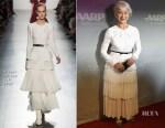 Dame Helen Mirren In Prabal Gurung - 'The Leisure Seeker' LA Premiere