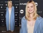 Elle Fanning In The Row - 'The Alienist' Sundance Film Festival Screening
