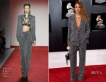 Eve In Naeem Khan - 2018 Grammy Awards