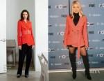 Fergie In Altuzarra  - The Four: Battle for Stardom