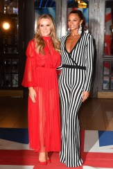 Amanda Holden and Alesha Dixon attend the 'Britain's Got Talent' Blackpool auditions
