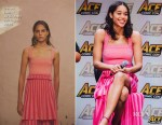 Laura Harrier In Derek Lam 10 Crosby - Ace Comic Con