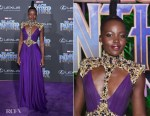 Lupita Nyong'o In Atelier Versace - 'Black Panther' World Premiere