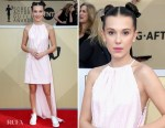 Millie Bobby Brown In Calvin Klein by Appointment - 2018 SAG Awards