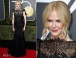 Nicole Kidman In Givenchy Couture - 2018 Golden Globe Awards