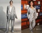Priyanka Chopra In Grey Jason Wu, Ralph Lauren & Zadig & Voltaire - 2018 Sundance Film Festival: 'A Kid Like Jake' & 'Burden The Park'