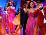 Rihanna In Adam Selman - 2018 Grammy Awards Performance