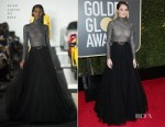 Shailene Woodley In Ralph Lauren Collection - 2018 Golden Globe Awards