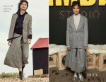 Tessa Thompson In Belstaff & Solace London - IMDb Studio & 'Sorry To Bother You' Sundance Film Festival Premiere