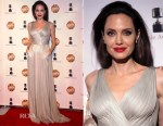 Angelina Jolie In Atelier Versace - 45th Annual Annie Awards