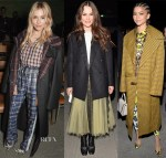 Front Row @ Burberry Fall 2018