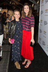Jennifer Meyer and Mandy Moore In 3.1 Phillip Lim - Create & Cultivate 100