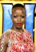 Florence Kasumba In Jenny Packham - 'Black Panther' London Premiere