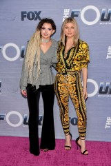 """Zhavia and Fergie attend the season finale viewing party for FOX's """"The Four"""""""