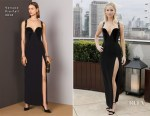 Jennifer Lawrence In Versace - 'Red Sparrow' London Photocall