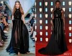 Lupita Nyong'o In Elie Saab Couture - 2018 BAFTAs