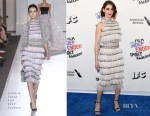 Alison Brie In Ralph & Russo Couture - 2018 Film Independent Spirit Awards