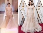 Allison Williams In Armani Privé - 2018 Oscars