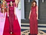 Ana de Armas In Dolce & Gabbana - 2018 Vanity Fair Oscar Party